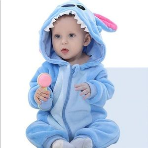 Other - Unisex-baby Flannel Romper Animal outfits Suit